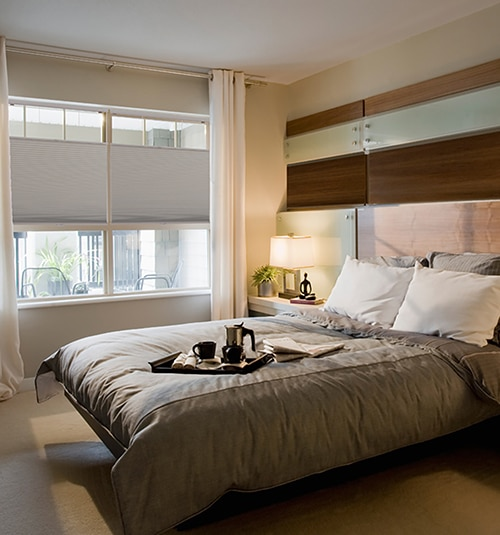 Star Blinds Cordless Top Down Bottom Up Room Darkening Cellular Shades