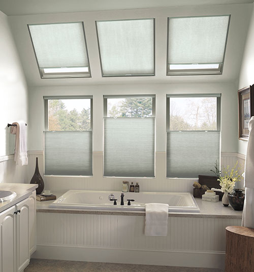 Star Blinds Light Filtering Skylight Shades