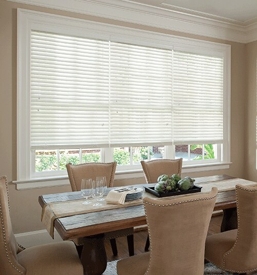Levolor 2 Visions Faux Wood Blinds