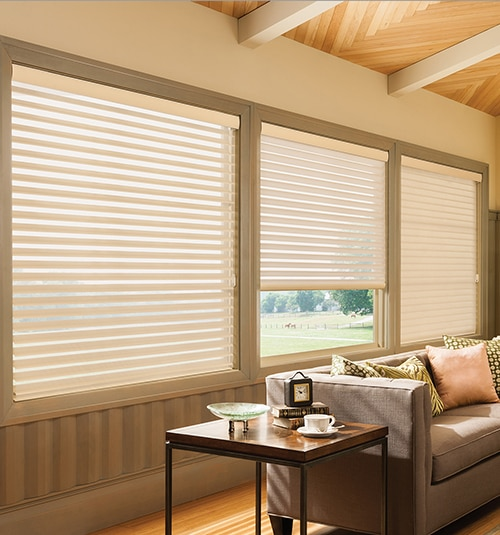 Star Blinds 3 Sheer Shades Light Filtering
