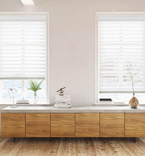 Star Blinds Motorized Sheer Shades