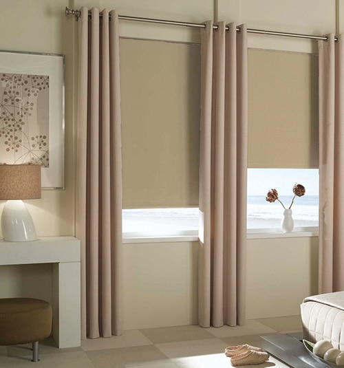 Star Blinds Reminiscent Blackout Roller Shades
