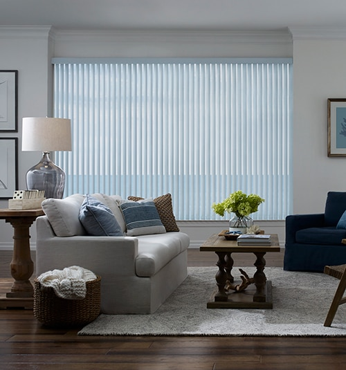 Levolor S-Shape Vertical Blind in Vinings Tea