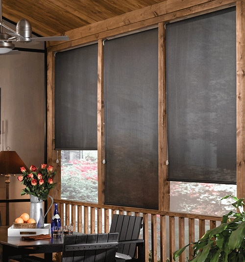 Star Blinds Outdoor Solar Shades