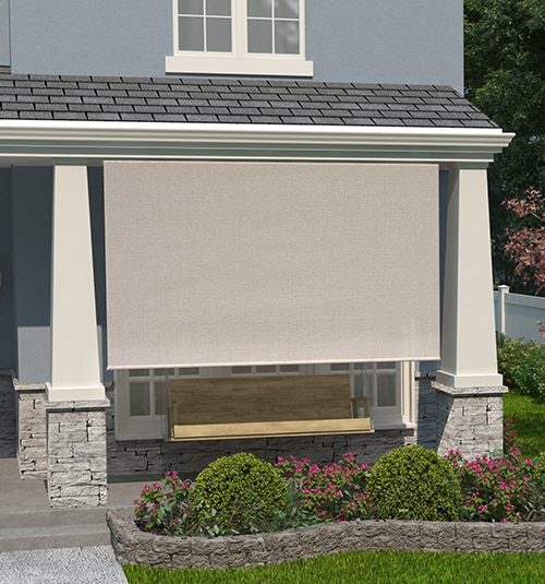 Coolaroo® Outdoor Sun Shades: Shown in color Outback Terracotta