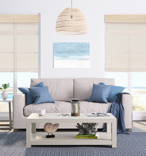 Star Blinds Cordless Bamboo Shades