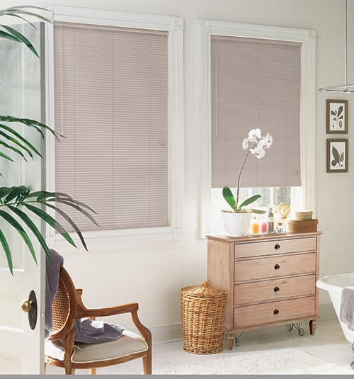 Star Blinds 1 8-Gauge Aluminum Privacy Mini Blinds