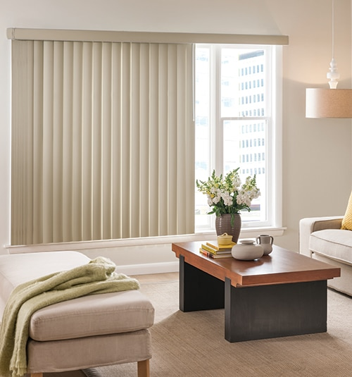 Star Blinds Sliding Glass Door Vinyl Blinds