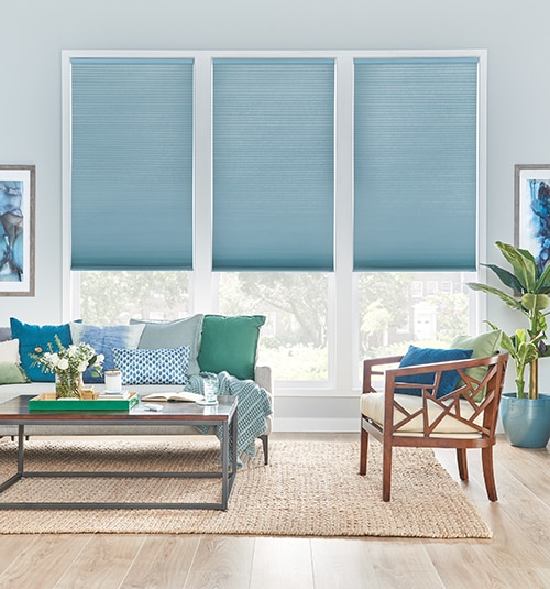 Bali Light Filtering Cellular Shades Double Cell
